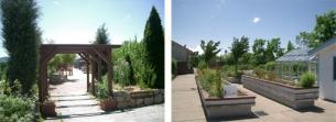 園芸療法や園芸福祉活動について実習する園芸療法ガーデン