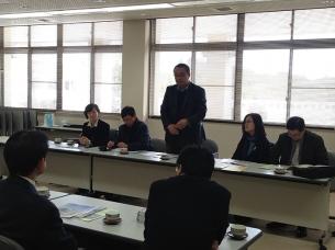 北京林業大学園林学部のみなさんが来校されました