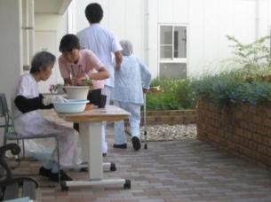 リハビリテーション病院における園芸療法