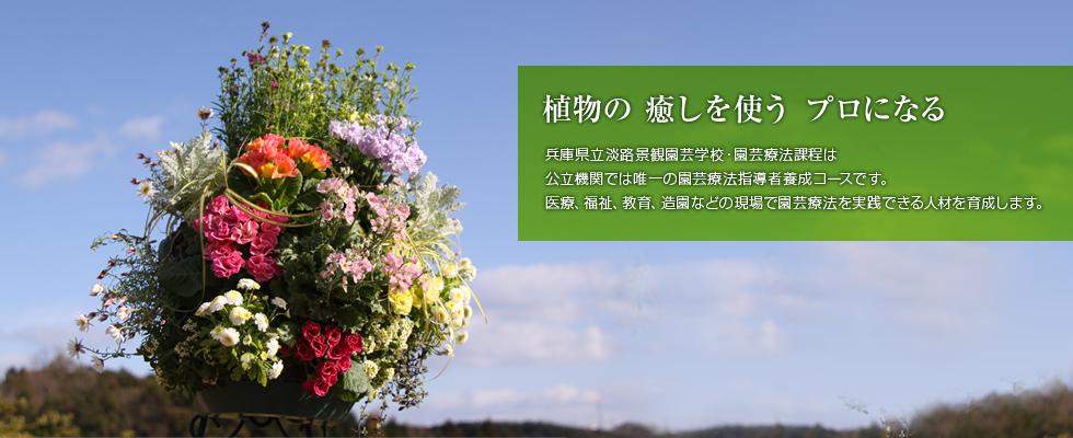 植物の癒しを使うプロになるー園芸療法課程